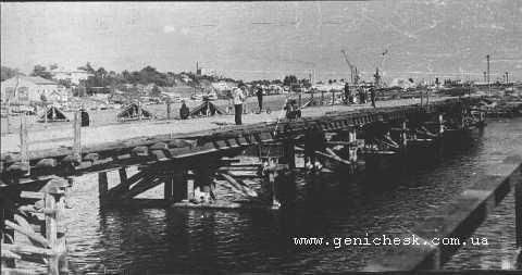 старый керченский мост фото